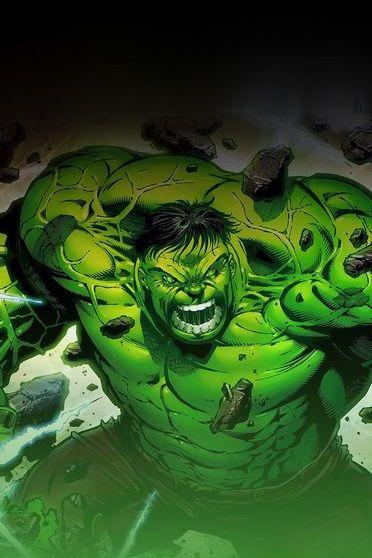 Hulk On Fire