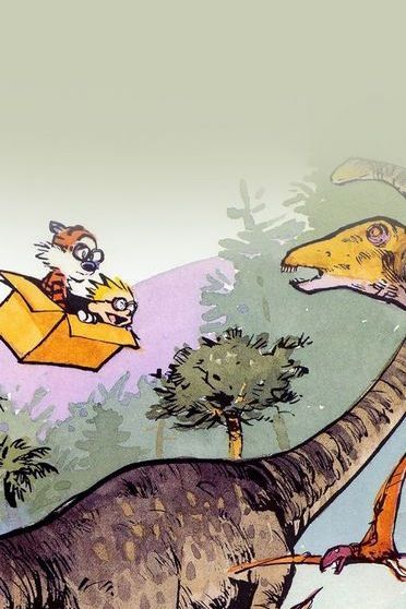 Calvin and Hobbes Dinosours