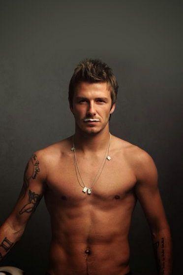 David Beckham Pose
