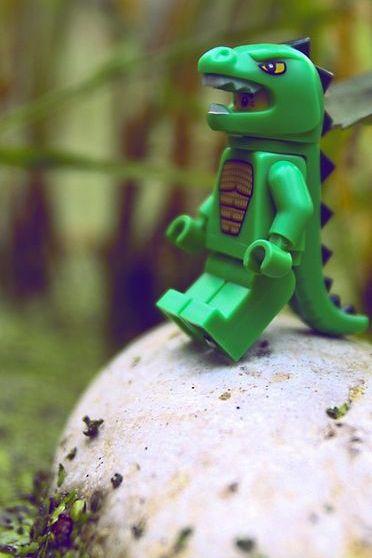 Crocodilo Lego