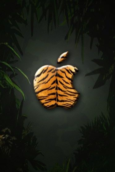 Apple Logo Tiger