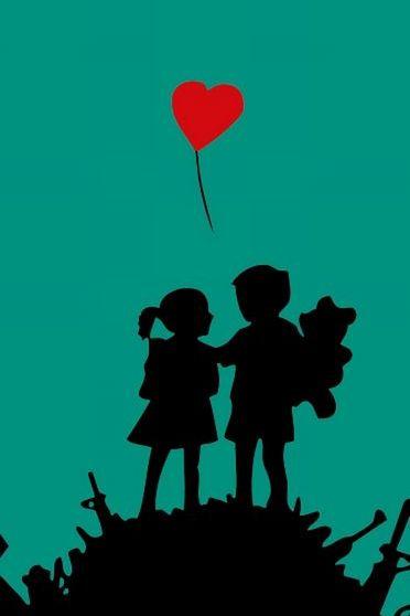 बच्चों को प्यार