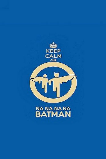 Keep Calm Batman