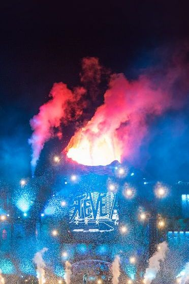 Tomorrowland Fire