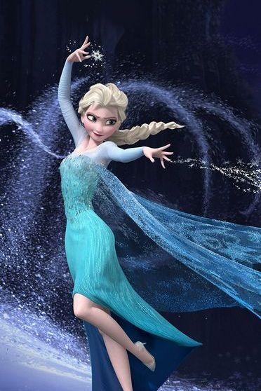 Elsa đông lạnh