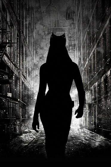 Catwoman Walking