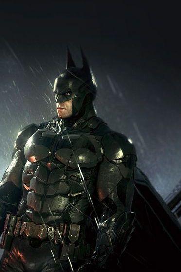 Batman Raining