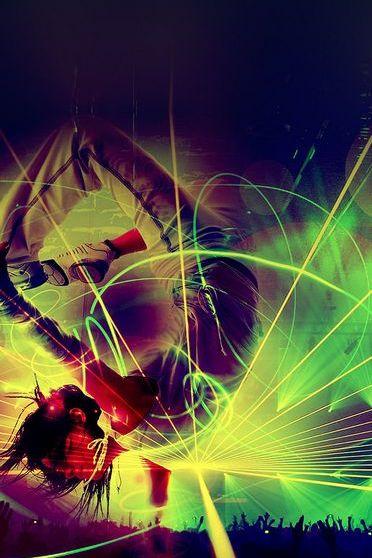 Dark Concert Laser