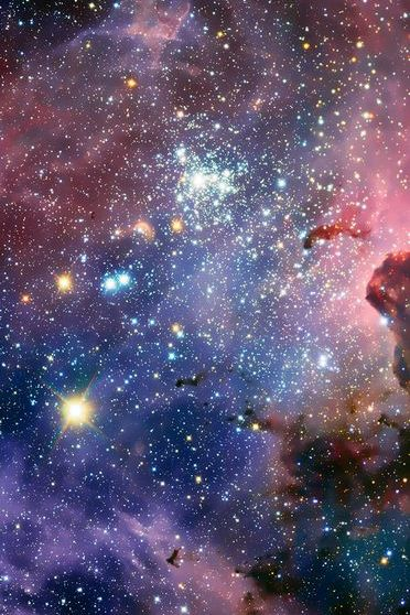 Estrelas espaciais