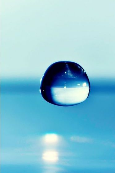 Single Water Drop