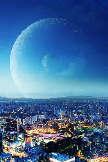 Księżyc nad księżycem