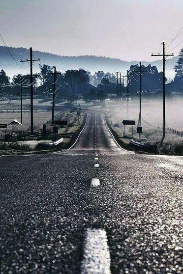 الطريق الرطب