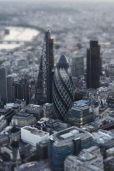 London Tilt Shift