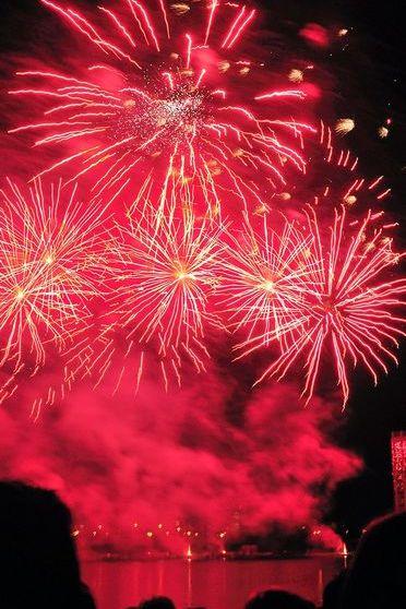 Fireworks Shaky