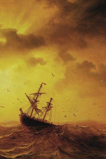 Storm Pa Havet