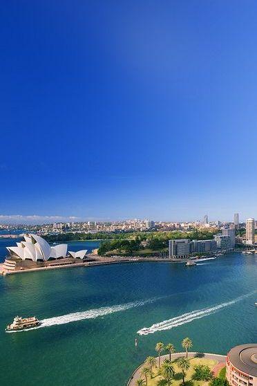 أستراليا المناظر الطبيعية