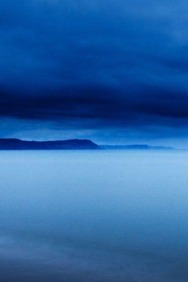 Stillness In Blue Storm