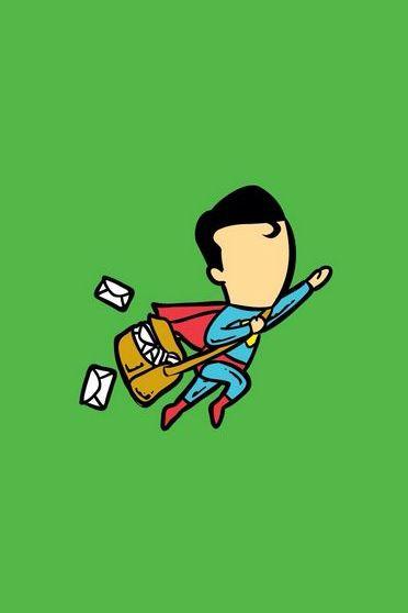 Superman Postman