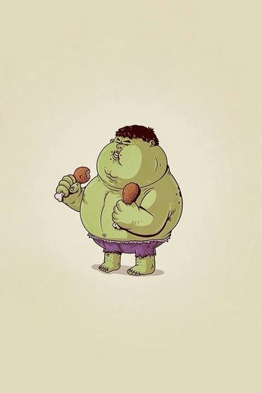 Fat The Hulk