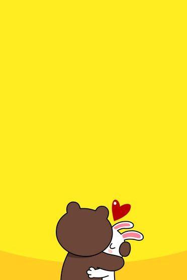LINE Brown & Cony Hug