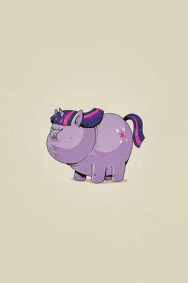Fat Little Pony