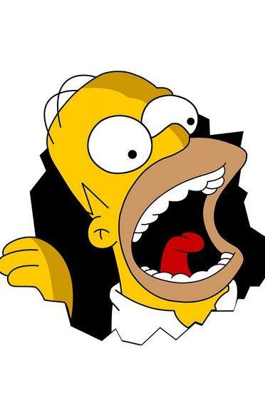 Homer Simpson Yell