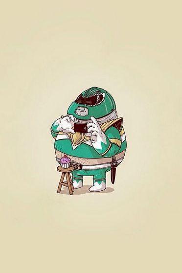 Fat Power Ranger