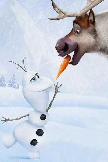 Frozen Olaf & Sven