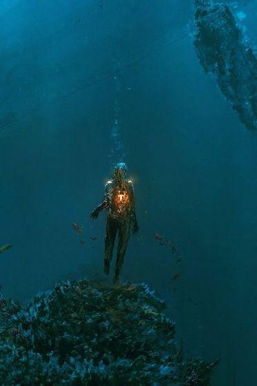 Dark Underwater