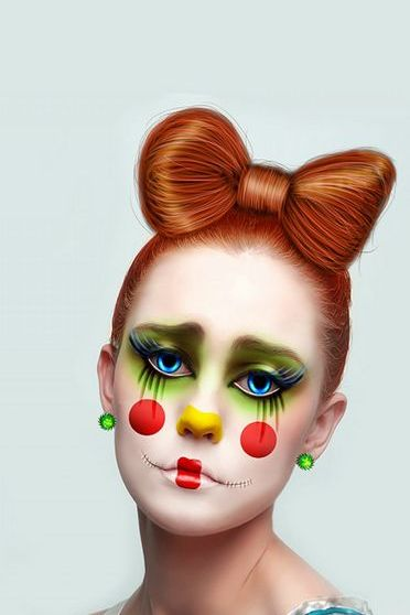 Sad Clown Girl
