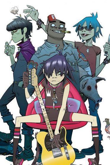 Gorillaz Band