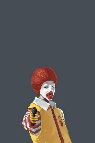 McDonald Hitman