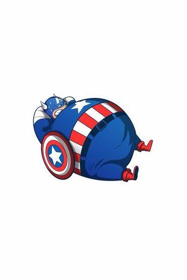 Diet Captain America