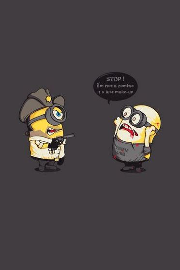 Minion Walking Dead