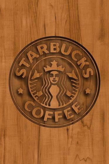 Starbucks Wood Logo