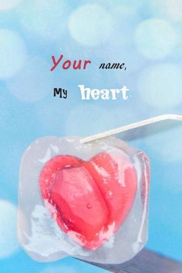 Adın, Kalbim