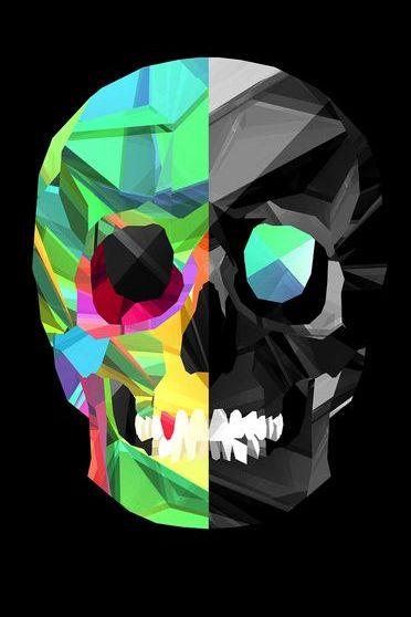 Skull Subdivision Color