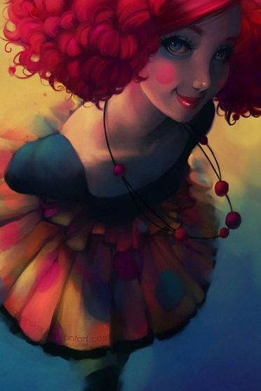 Cute Clown Girl