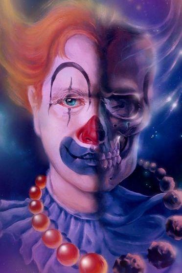 Skeleton Clown