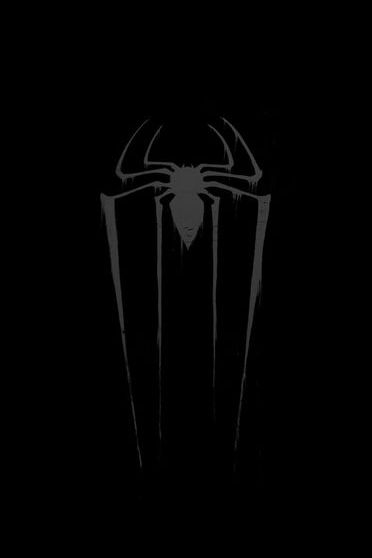 Spider Man Logo In Black