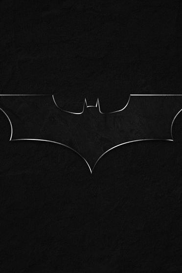 Logotipo preto do batman