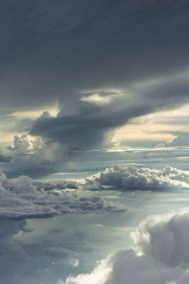 Between Storm Clouds