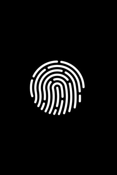 Touch ID Noir