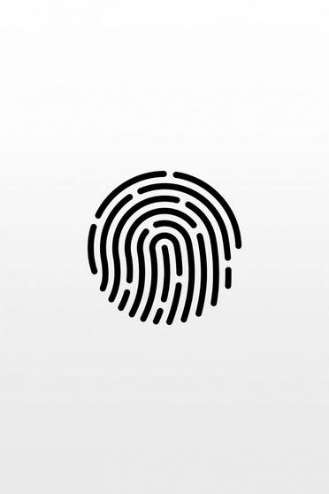 Touch ID White