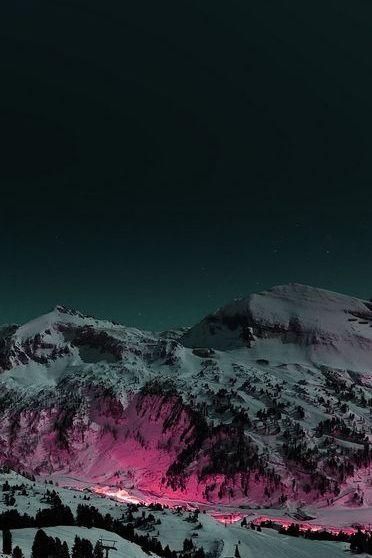 النار في الجبل