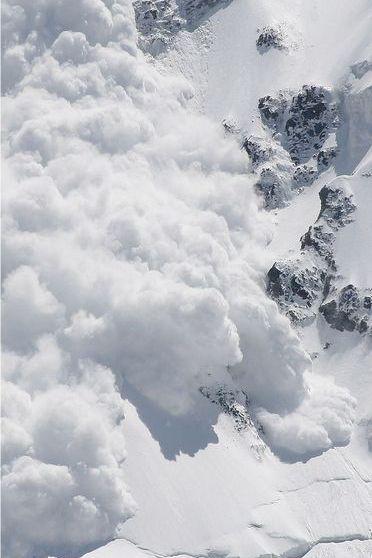 Avalanche Snow Mountain