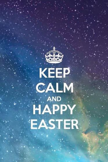 Keep Calm And Happy Easter 1