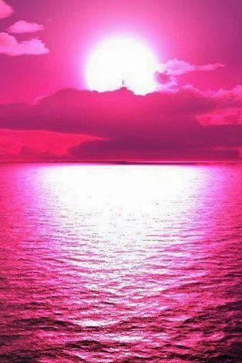 Sunset Sea Raspberry
