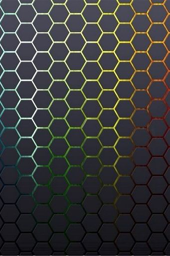 Hexagons Textures Honeycomb