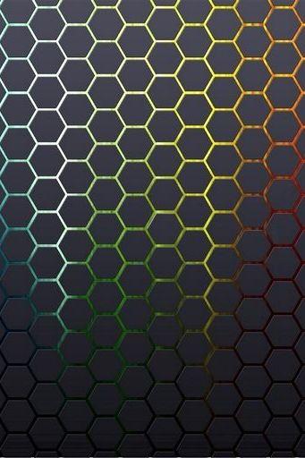 Hexagons Textures Honeycomb
